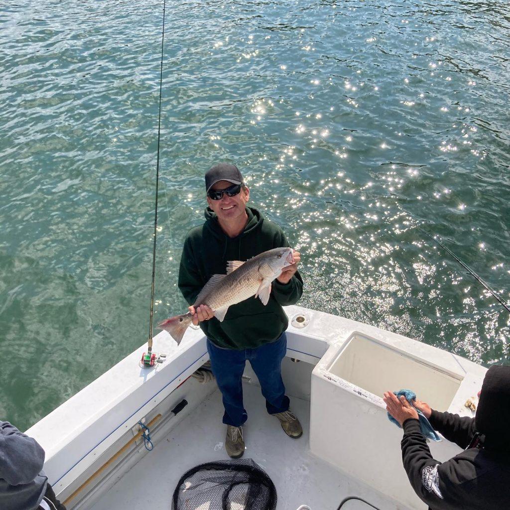 Puppy Drum Sea Teaser Sport Fishing Charter