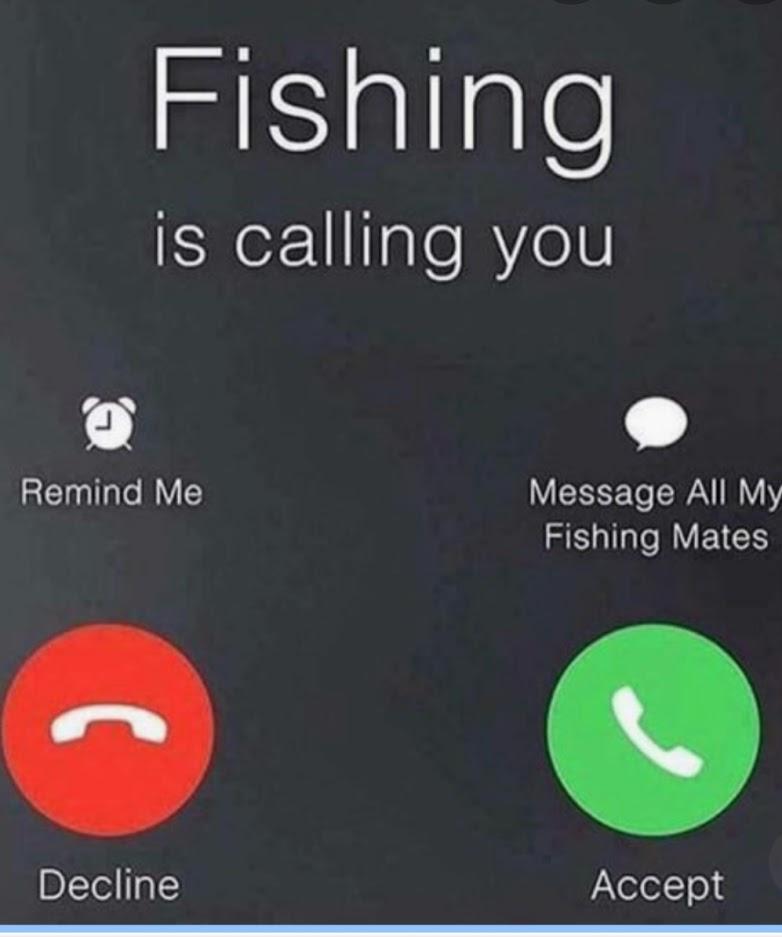 fishng calling